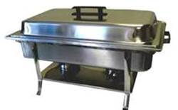 Where to find CHAFER, 8QT W BLACK HANDLE in Talladega